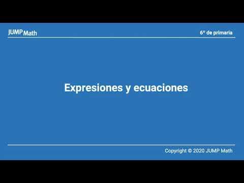 6. Unidad 9. Expresiones y ecuaciones