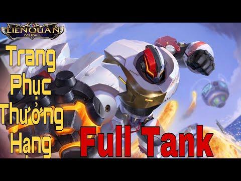 Test trang phục SKUD Quang Vinh và lên full tank| Arena Of Valor