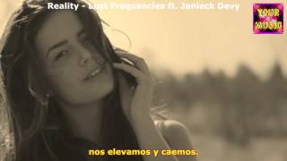 Reality (Subtitulado) - Lost Frequencies feat Janieck Devy