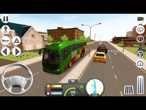 Coach Bus Simulator - #31 Trip to Frankfurt | Bus Games for Kids - Android IOS GamePlay FHD