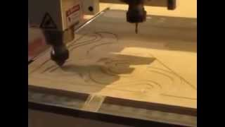 Two-spindles Cnc Machine For Wood Door Processing Demo.mov