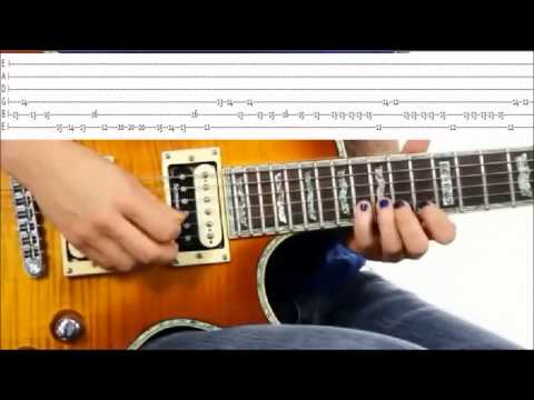 Super Mario Brothers Theme Song Practice Video + TABS