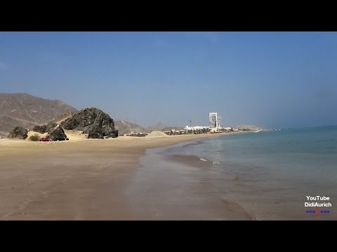 Fujairah Strand Al Aqah Beach Rotana Resort Le Méridien Intercontinental Iberotel Sandy Beach