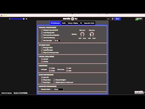 DFW DJ School: Serato DJ Setup Pt1 (settings)
