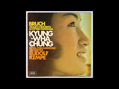Bruch, Violin Concerto, Chung