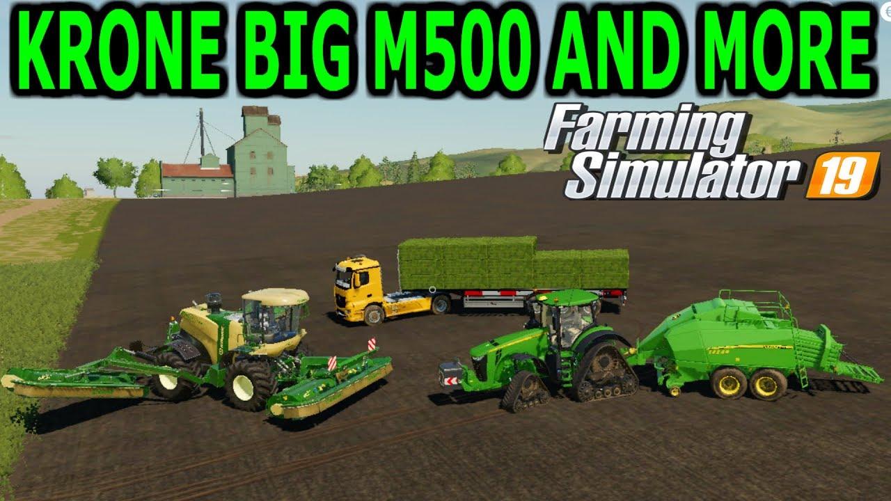 Bale Making Implements Farming Simulator 19 Mods