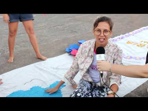 VT - Reportagem Tapetes Corpus Christi - Paróquia De Reriutaba-CE