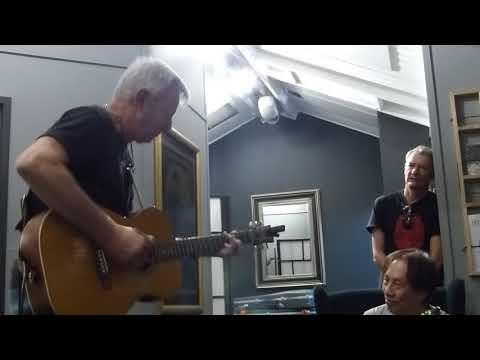Tommy in the Green Room, Phil Emmanuel Memorial Concert.