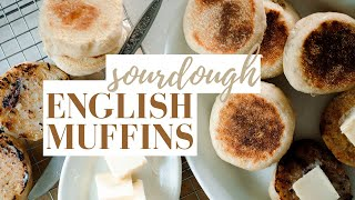 How to Make Sourdough English Muffins