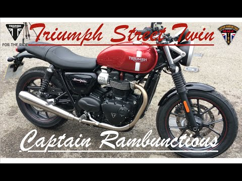 Triumph Street Twin - 1st Ride & Review