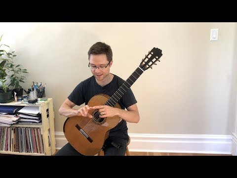 Vol. 2 Lesson: Right Hand Technique Exercises for Classical Guitar