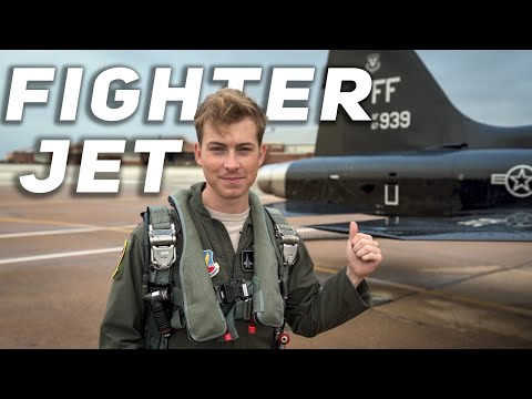 What It's Like to FLY In A Fighter Jet (PUKE WARNING!)