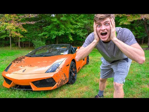 CAN YOU OFF ROAD A LAMBORGHINI!! (GOT STUCK)