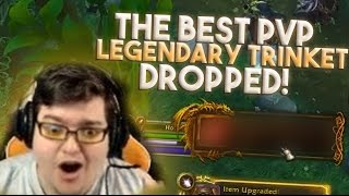 THE BEST PVP LEGENDARY JUST DROPPED!! (World of Warcraft Legion)