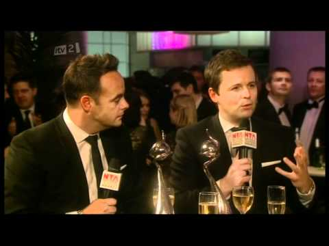 Funny Ant n Dec Interview @ NTA Awards 2012