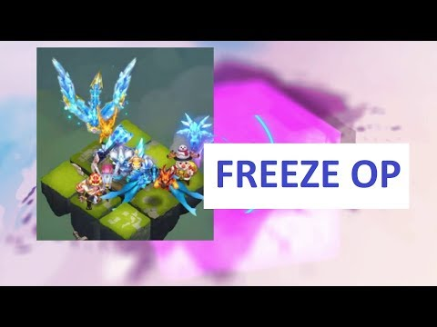 LBF FREEZE LOCK TEAM In TOP MATCHES Castle Clash