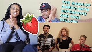Couple reacts : the mash-up game (feat. tori kelly) by superfruit reaction!!!