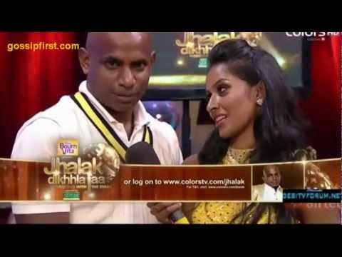 sanath jayasuriya dance at Jhalak Dikhla Jaa - gossipfirst.com