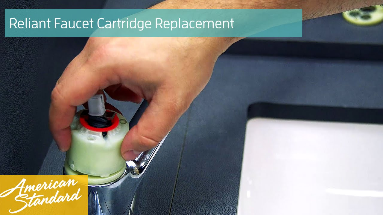 How to Replace a Cartridge for your Reliant Faucet - YouTube