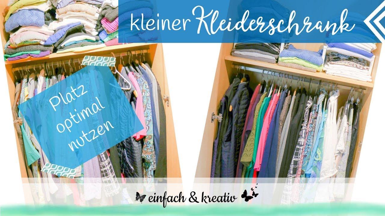 Kleinen Kleiderschrank Organisieren Platz Optimal Ausnutzen
