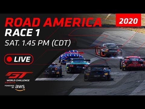 RACE 1 - ROAD AMERICA - GT WORLD CHALLENGE AMERICA 2020