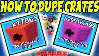 HOW TO DUPLICATE CRATES/ ITEMS IN MINING SIMULATOR | Roblox