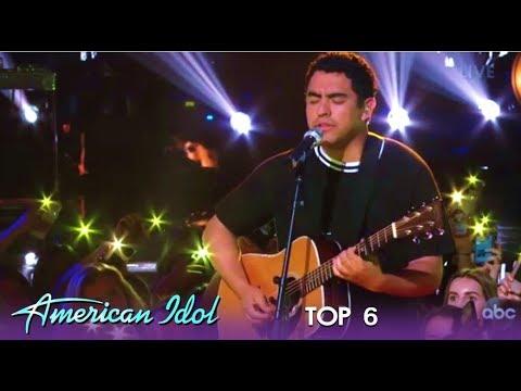 "Alejandro Aranda: At His BEST Yes With Original Song ""Poisen""   American Idol 2019"