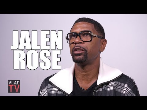 Jalen Rose: I Attended My NBA Star Father's Funeral, Only 20 People Showed Up (Part 2)