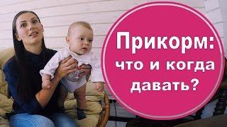 Прикорм: когда начинать и чем кормить малыша. Мой опыт(Прикорм - важный этап в развитии ребенка. родив третьего, сформировала несколько критериев, по которым можн..., 2016-05-13T07:00:02.000Z)