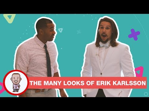 THE MANY LOOKS OF ERIK KARLSSON ON CABBIE PRESENTS