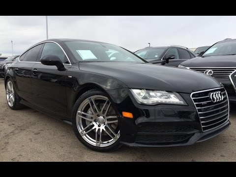 pre owned black 2012 audi a7 hb quattro 3 0 premium review innisfail alberta youtube. Black Bedroom Furniture Sets. Home Design Ideas