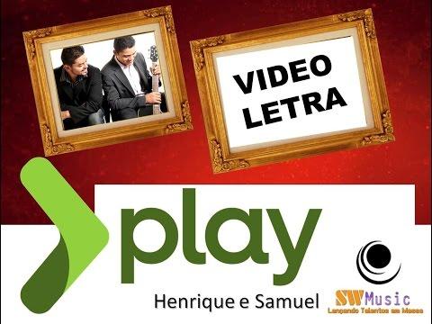 Henrique e Samuel - TE ADORAR - Vídeo da LETRA Oficial HD SW Music (VideoLETRA®)