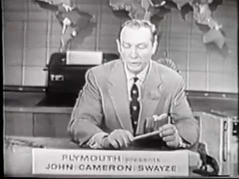 NBC-Plymouth News Caravan, April 18, 1955