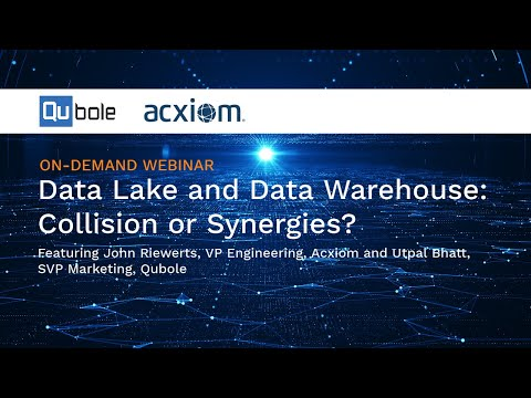 Data Lake and Data Warehouse: Collision or Synergies? With John Riewerts, VP Engineering, Acxiom