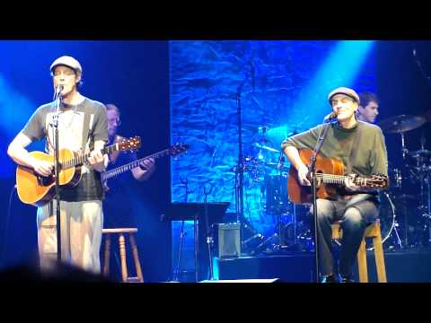 James Taylor and Ben Taylor - Carolina in My Mind - Raleigh