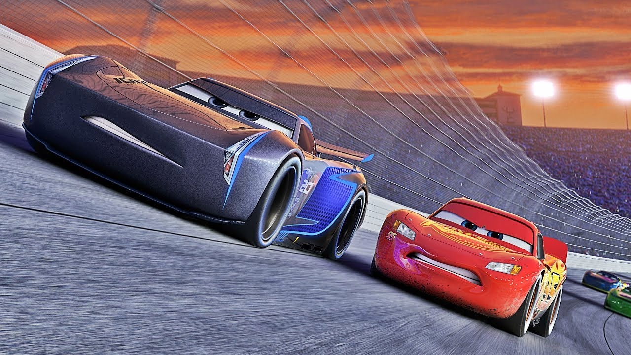Oyuncak Dunyasi Arabalar 3 Pixar Car 3 Animasyon Filmi Simsek