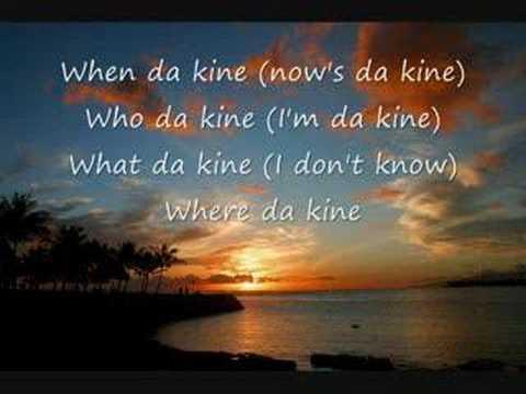 Da Kine- Darrell Labrado w/ lyrics