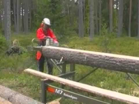 Portable Chainsaw Mill Logosol M7