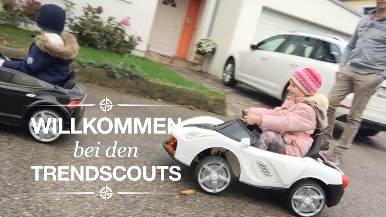 Kinder Elektroauto Im Test Xxxl Trendscouts 2 Youtube