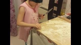 Как надо готовить галушки))