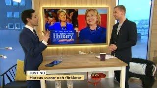 USA, Storbritannien & SD: Marcus svarar och förklarar - Nyhetsmorgon (TV4)