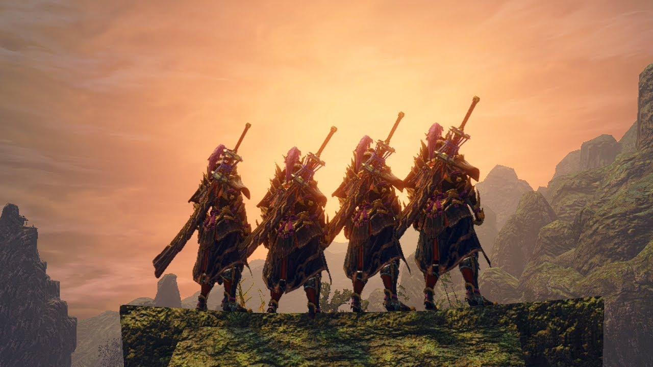 MHRise | 4 Long Swords are Broken