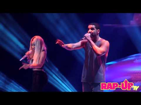 Drake and Nicki Minaj Perform Make Me Proud in LA