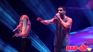 Drake and Nicki Minaj Perform 'Make Me Proud' in L.A.