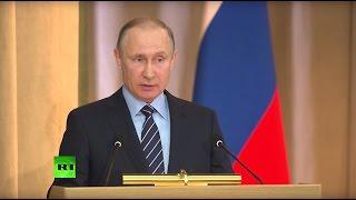Владимир Путин на заседании коллегии Генпрокуратуры РФ