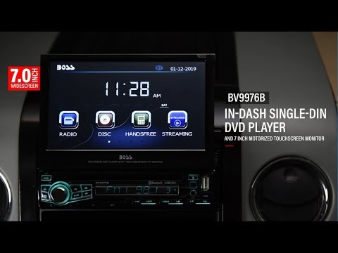BV9976 Single Din Stereo | BOSS Audio Systems