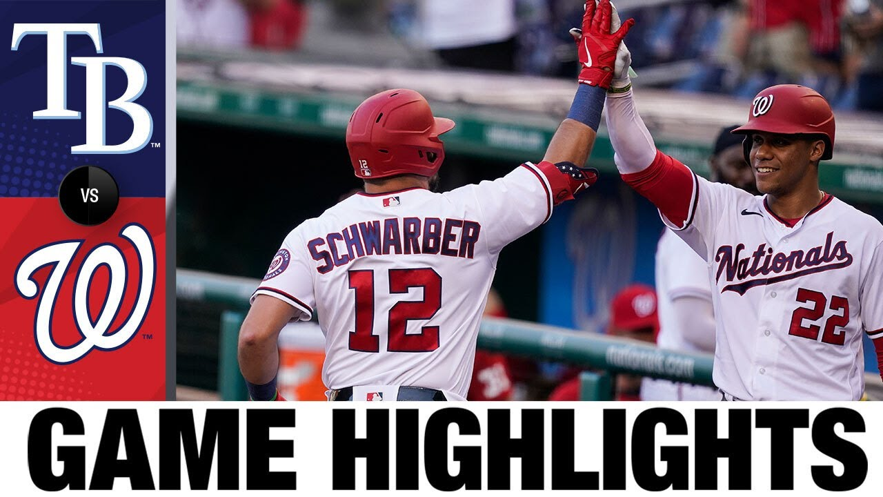 Download Rays vs. Nationals Game Highlights (6/29/21)   MLB Highlights