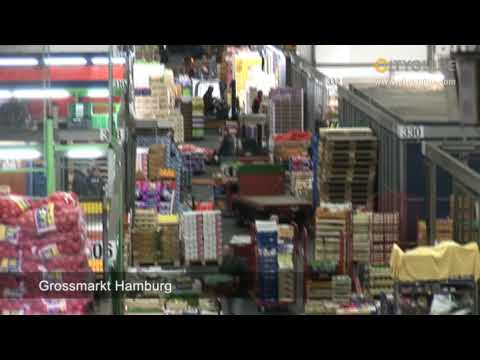 Grossmarkt Hamburg, Hamburg; The fresh centre of the ...