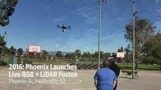 Phoenix & Velodyne: First UAV LiDAR & Evolution