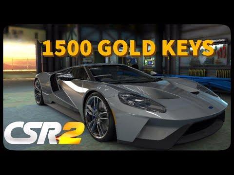 CSR Racing 2 - 1500 Gold keys! - Episode 10
